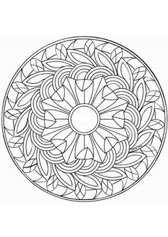 "Coloriage mandala entrelacs sur Hugolescargot.com - Hugolescargot.com | free sample | Join fb grown-up coloring group: ""I Like to Color! How 'Bout You?"" https://m.facebook.com/groups/1639475759652439/?ref=ts&fref=ts"