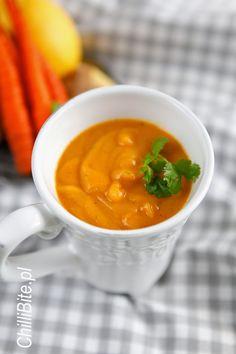 ChilliBite.pl - motywuje do gotowania!: Gorący kubek - genialna zupa z marchwi i mango