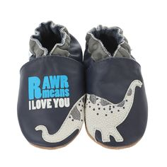 Dylan the Dino Baby Shoes | Robeez