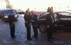 François Hollande est arrivé au musée peu après 11h. Photo L'Alsace/A.W.