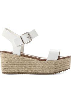 STEVE MADDEN - Surfa espadrilles leather platform sandals | Selfridges.com