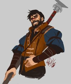 """viktopia:  Robes of the Notorious Falcon.I ran around in these digs for a while. That was fun. Drawn in kind-of practice? For a potential hawke-off with a friendhahah.Yes I named my Hawke """"Falcon"""". It fit"""