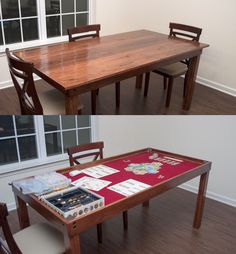 The Fackrell Family: Gaming Table