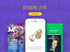 Download Deadline UI Kit PSD UI kit - http://www.vectorarea.com/download-deadline-ui-kit-psd-ui-kit