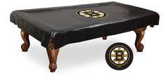 The Boston Bruins 7' Pool Table Cover - Holland Bar BCV7BosBru