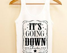 Funny Tank top it's going down kesha, Tank top Mens and Tank top girl Size S-XXL by AkuKuduKuat