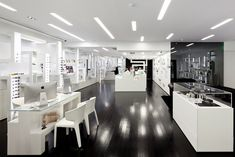 Optical store by Sousa Santos Arquitectos Architecture, Lisbon