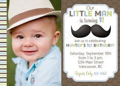 mustache birthday party | ... mustache birthday, mustache party, mustache party supplies, little man