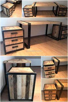 reclaimed pallets furniture idea