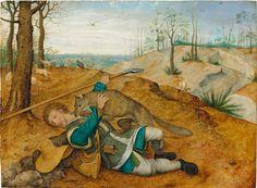 """11_Питер Брейгель Младший Адский (1564-1638) """"Добрый пастырь"""".дерево (дуб) масло"""