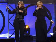 Erica Campbell Mary Mary (Tina Campbell and Erica Campbell) perform ...