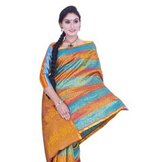 Buy Sudarshan Silks Multi Silk Saree by Sudarshan Silks, on Paytm, Price: Rs.4347?utm_medium=pintrest