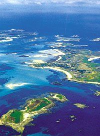 The beautiful Isles of Scilly - home to the World Pilot Gig Championships!