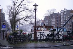Winter on the canals