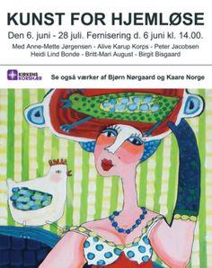 Anne-Mette Jørgensen.  Danish artist