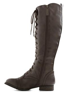 Crossing Borders Boot in Brown, #ModCloth