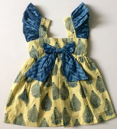 Organic clothing for babies and adults Cotton Frocks For Kids, Frocks For Babies, Baby Girl Frocks, Frocks For Girls, Dresses Kids Girl, Baby Dresses, Baby Frock Pattern, Frock Patterns, Baby Girl Dress Patterns
