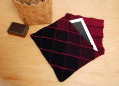 Schacht Spindle Blog: Tablet Pouch - A Zoom Loom Project