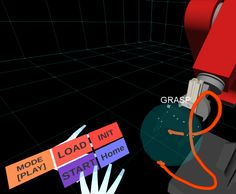 VIDEO:  Industrial robots find new safety mechanisms through immersive virtual reality.