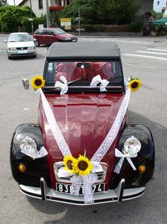 1000 images about 2cv on pinterest mariage aix en for Decoration 2cv mariage
