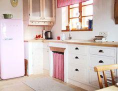 Vorhänge fürs Küchenregal