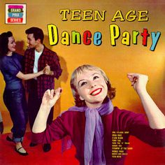 Vintage Teenage Dance Party album cover