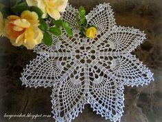 Lacy Crochet: Easy Pineapple Doily