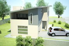3 Bedroom + Study Townhouse Plan:213TH