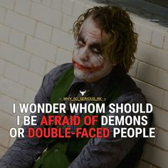 Quote from Official page of why so serious from INSTAGRAM { @why_so_serious_rk }