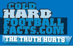 Cold Hard Football Facts  	Awesome football website that has a lot of interesting facts and a more in-depth look at the NFL than you will get from the more mainstream sites (CBS Sports, Sporting News, etc).  CHFF has developed a variety of methods to determine just how good a team or position is.  They are much better than a typical power poll.  These guys destroy conventional wisdom with their Cold, Hard, Football Facts!