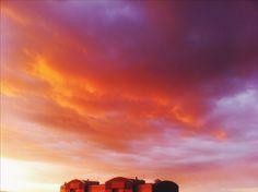 #nebo #sky #sunset #red #tender