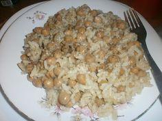 ΜΑΓΕΙΡΙΚΗ ΚΑΙ ΣΥΝΤΑΓΕΣ: Ρεβύθια με ρύζι !!