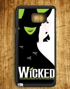 Wicked The Untold Story Of The Witches Of Oz Samsung Galaxy Note Edge Case
