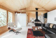 Wood Studio House by Studio Dom Arquitectura | Photo © Jordi Anguera /   Wooden Efficient prefab sustainable passive