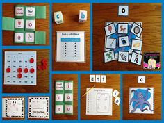 Great for RtI Time, small groups, or literacy centers! Includes a Foldable, Roll A Word, Picture Sorts, & More
