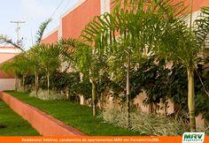 Paisagismo do Residencial Veleiros em Parnamirim/RN. Condomínio fechado da MRV Engenharia.