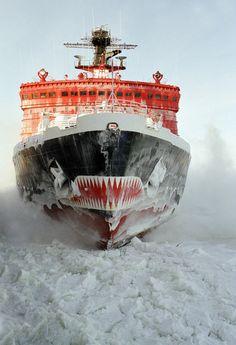 "100%™ Russian nuclear icebreaker ""Yamal"""