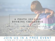 A great webinar and challenge for fellow photograohers on how to get more bookings!