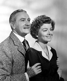 """Myrna Loy and Clifton Webb in """"Cheaper By the Dozen"""" (1950)."""