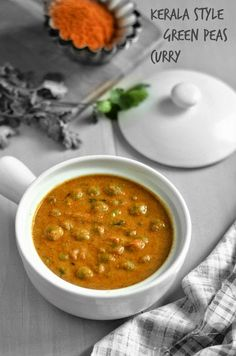 Kerala Style Green Peas Curry ~ Nalini'sKitchen