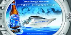 The work of Michael C. Bud Light, Cleaning Supplies, Cruise, Paradise, Beer, Bottle, Watch, Places, Music