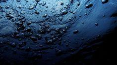 Dark Blue Water HD Widescreen Wallpaper