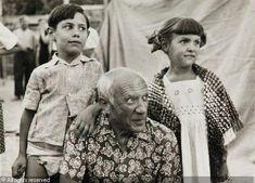 Le regard de Picasso Été 1957