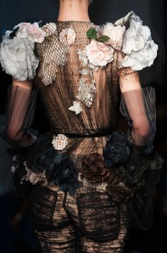 Jean Paul Gaultier at Couture Spring 2015 (Details)