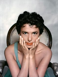 Lena Horne...She reminds me so much of my grandmother