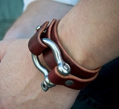 leather bracelet More