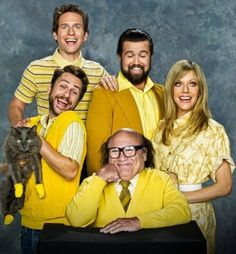 Funny pictures about It's Always Sunny In Philadelphia Family Photo. Oh, and cool pics about It's Always Sunny In Philadelphia Family Photo. Also, It's Always Sunny In Philadelphia Family Photo photos. Charlie Day, Charlie Kelly, Joel Mchale, Napoleon Dynamite, Sin City 2, Kitten Mittens, Fall Tv, Pokerface, Sunny In Philadelphia