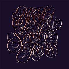 Lettering & Typography by Jordan Metcalf