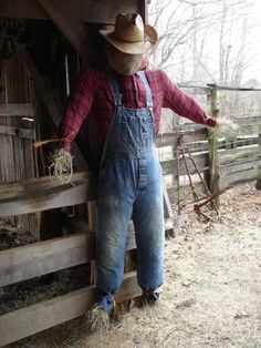 Country Living ~ Scarecrow