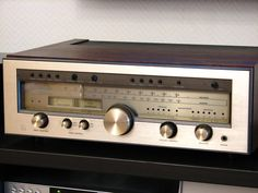 Another beautiful vintage Luxman Receiver